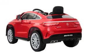 Masinuta electrica Premier Mercedes GLE 63 Coupe, 12V, roti cauciuc EVA, scaun piele ecologica1