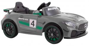 Masinuta electrica Premier Mercedes GT4, 12V, roti cauciuc EVA, scaun piele ecologica1