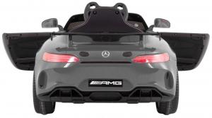 Masinuta electrica Premier Mercedes GT4, 12V, roti cauciuc EVA, scaun piele ecologica4