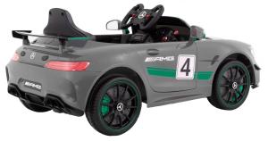 Masinuta electrica Premier Mercedes GT4, 12V, roti cauciuc EVA, scaun piele ecologica6