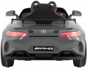 Masinuta electrica Premier Mercedes GT4, 12V, roti cauciuc EVA, scaun piele ecologica3