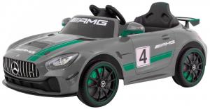 Masinuta electrica Premier Mercedes GT4, 12V, roti cauciuc EVA, scaun piele ecologica0