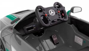 Masinuta electrica Premier Mercedes GT4, 12V, roti cauciuc EVA, scaun piele ecologica7