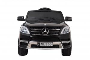 Masinuta electrica Premier Mercedes ML-350, 12V, roti cauciuc EVA, scaun piele ecologica, neagra2