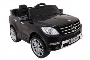 Masinuta electrica Premier Mercedes ML-350, 12V, roti cauciuc EVA, scaun piele ecologica, neagra1