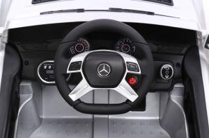 Masinuta electrica Premier Mercedes ML-350 4MATIC, 12V, roti cauciuc EVA, Bluetooth4