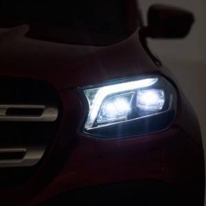 Masinuta electrica 4 x 4 Premier Mercedes X-Class, 12V, ecran LCD, MP4, roti cauciuc EVA, scaun piele ecologica, albastru11