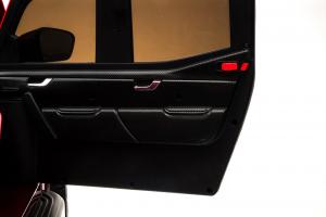 Masinuta electrica 4 x 4 Premier Mercedes X-Class, 12V, roti cauciuc EVA, scaun piele ecologica, negru [8]