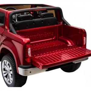 Masinuta electrica 4 x 4 Premier Mercedes X-Class, 12V, ecran LCD, MP4, roti cauciuc EVA, scaun piele ecologica, rosu [6]