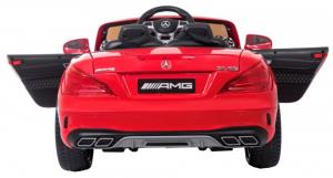 Masinuta electrica Premier Mercedes SL65 AMG, 12V, roti cauciuc EVA, scaun piele ecologica, rosu [3]