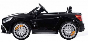 Masinuta electrica Premier Mercedes SL65 AMG, 12V, roti cauciuc EVA, scaun piele ecologica [2]