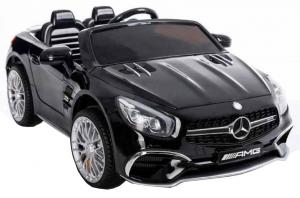 Masinuta electrica Premier Mercedes SL65 AMG, 12V, roti cauciuc EVA, scaun piele ecologica [3]