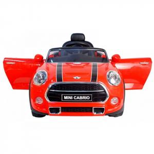 Masinuta electrica Premier Mini Cooper Cabrio, 12V, portiere, slow start3