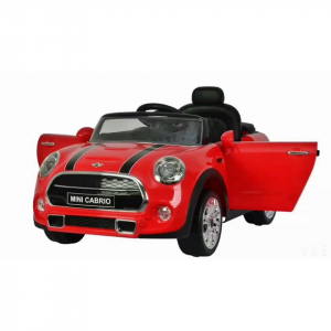 Masinuta electrica Premier Mini Cooper Cabrio, 12V, portiere, slow start4