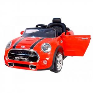 Masinuta electrica Premier Mini Cooper Cabrio, 12V, portiere, slow start0