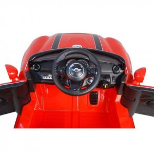 Masinuta electrica Premier Mini Cooper Cabrio, 12V, portiere, slow start2