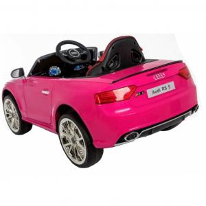 Masinuta electrica Premier Audi RS5, 12V, roti cauciuc EVA, scaun piele ecologica5