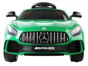 Masinuta electrica Premier Mercedes GT-R, 12V, roti cauciuc EVA, scaun piele ecologica, verde5