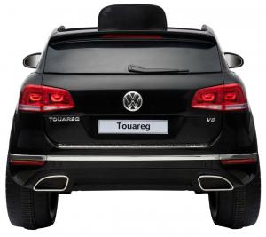 Masinuta electrica Premier Volkswagen Touareg, 12V, roti cauciuc EVA, scaun piele ecologica, negru9