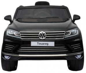 Masinuta electrica Premier Volkswagen Touareg, 12V, roti cauciuc EVA, scaun piele ecologica, negru10