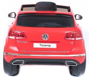 Masinuta electrica Premier Volkswagen Touareg, 12V, roti cauciuc EVA, scaun piele ecologica, rosu8