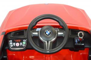 Masinuta electrica Premier BMW X5M, 12V, roti cauciuc EVA, scaun piele ecologica3