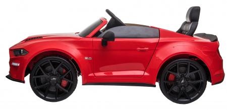 Masinuta electrica Premier Ford Mustang, 12V, roti cauciuc EVA, scaun piele ecologica, rosu [6]