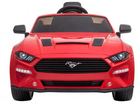 Masinuta electrica Premier Ford Mustang, 12V, roti cauciuc EVA, scaun piele ecologica, rosu [2]