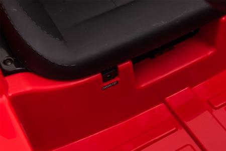 Masinuta electrica Premier Ford Mustang, 12V, roti cauciuc EVA, scaun piele ecologica, rosu [32]