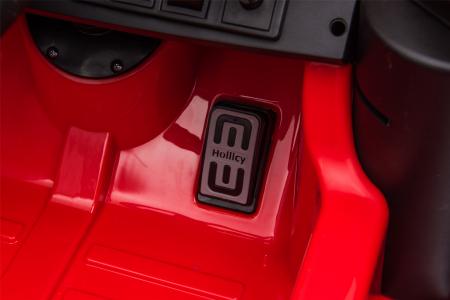 Masinuta electrica Premier Ford Mustang, 12V, roti cauciuc EVA, scaun piele ecologica, rosu [28]
