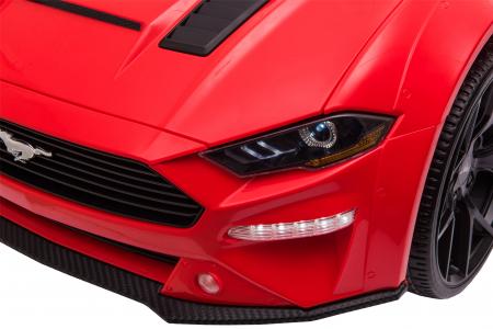 Masinuta electrica Premier Ford Mustang, 12V, roti cauciuc EVA, scaun piele ecologica, rosu [20]