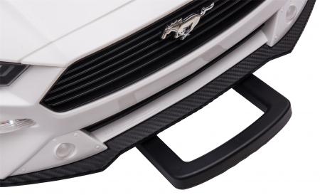 Masinuta electrica Premier Ford Mustang, 12V, roti cauciuc EVA, scaun piele ecologica, alb [31]