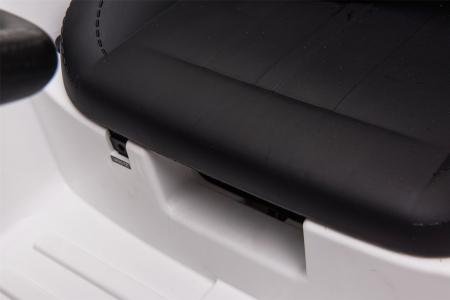 Masinuta electrica Premier Ford Mustang, 12V, roti cauciuc EVA, scaun piele ecologica, alb [28]