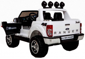 Masinuta electrica Premier Ford Ranger, 12V, roti cauciuc EVA, scaun piele ecologica2