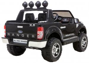 Masinuta electrica Premier Ford Ranger, 12V, roti cauciuc EVA, scaun piele ecologica, negru [6]