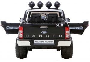 Masinuta electrica Premier Ford Ranger, 12V, roti cauciuc EVA, scaun piele ecologica, negru [2]