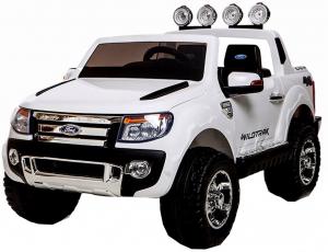 Masinuta electrica Premier Ford Ranger, 12V, roti cauciuc EVA, scaun piele ecologica0