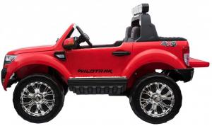 Masinuta electrica Premier Ford Ranger 4x4, 12V, roti cauciuc EVA, scaun piele ecologica, rosu3