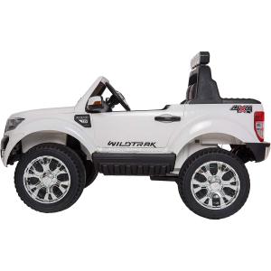 Masinuta electrica Premier Ford Ranger 4x4, 12V, roti cauciuc EVA, scaun piele ecologica, alb1