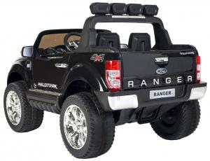Masinuta electrica Premier Ford Ranger 4x4, 12V, roti cauciuc EVA, scaun piele ecologica, negru [6]