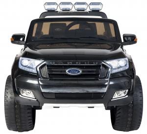 Masinuta electrica Premier Ford Ranger 4x4, 12V, roti cauciuc EVA, scaun piele ecologica, negru [1]