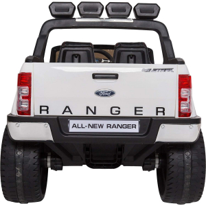 Masinuta electrica Premier Ford Ranger 4x4, 12V, roti cauciuc EVA, scaun piele ecologica, alb6