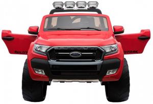 Masinuta electrica Premier Ford Ranger 4x4, 12V, roti cauciuc EVA, scaun piele ecologica, rosu5