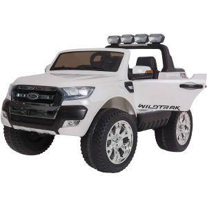 Masinuta electrica Premier Ford Ranger 4x4, 12V, roti cauciuc EVA, scaun piele ecologica, alb0