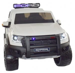 Masinuta electrica politie Premier Ford Raptor, 12V, roti cauciuc EVA, scaun piele ecologica8