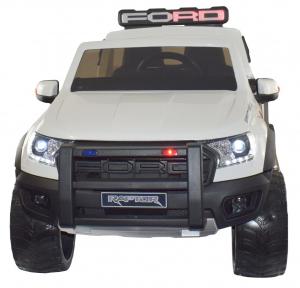 Masinuta electrica politie Premier Ford Raptor, 12V, roti cauciuc EVA, scaun piele ecologica7