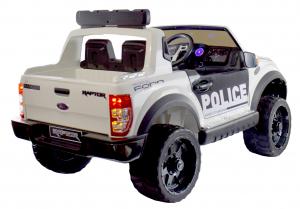 Masinuta electrica politie Premier Ford Raptor, 12V, roti cauciuc EVA, scaun piele ecologica5