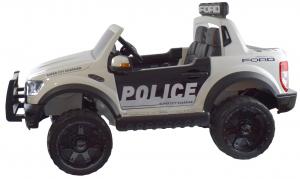 Masinuta electrica politie Premier Ford Raptor, 12V, roti cauciuc EVA, scaun piele ecologica10