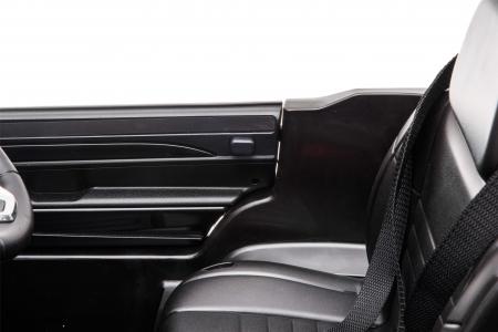 Masinuta electrica Premier Jeep Grand Cherokee, 12V, roti cauciuc EVA, scaun piele ecologica, negru [25]