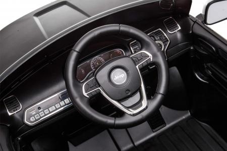 Masinuta electrica Premier Jeep Grand Cherokee, 12V, roti cauciuc EVA, scaun piele ecologica, negru [23]